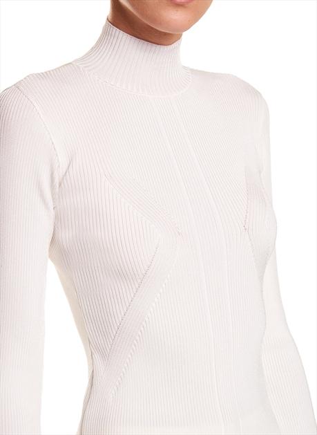 Blusa Le Lis Blanc Hanna Tricot Off White Feminina 11 60 0052