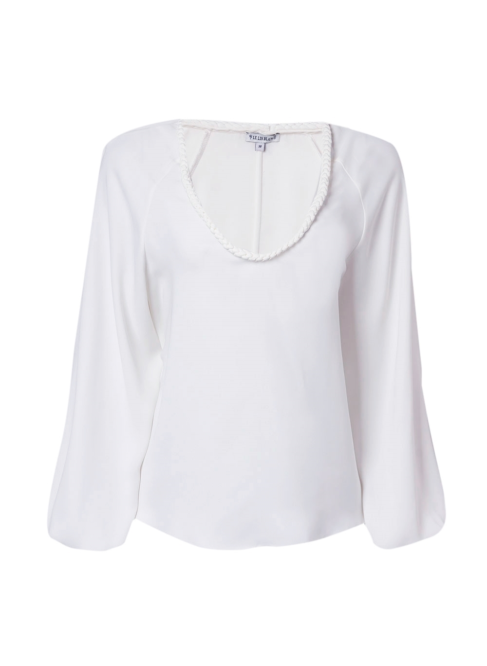 Blusa Le Lis Blanc Tatiana Feminina (Off Kern, 44)