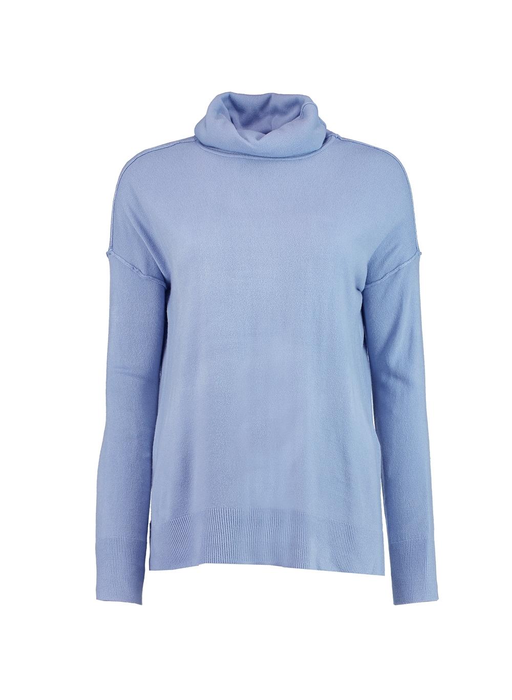 Blusa Le Lis Blanc Lis I Feminina (Azul Acizentado, M)