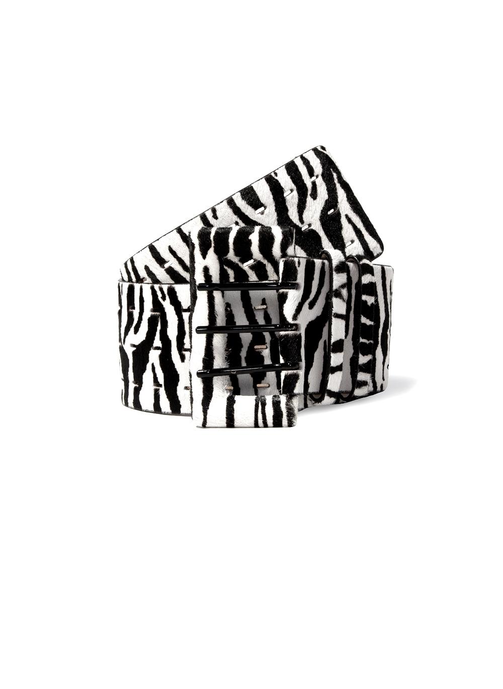 Cinto Bo.bô Zebra Largo Feminino (Estampado, M)