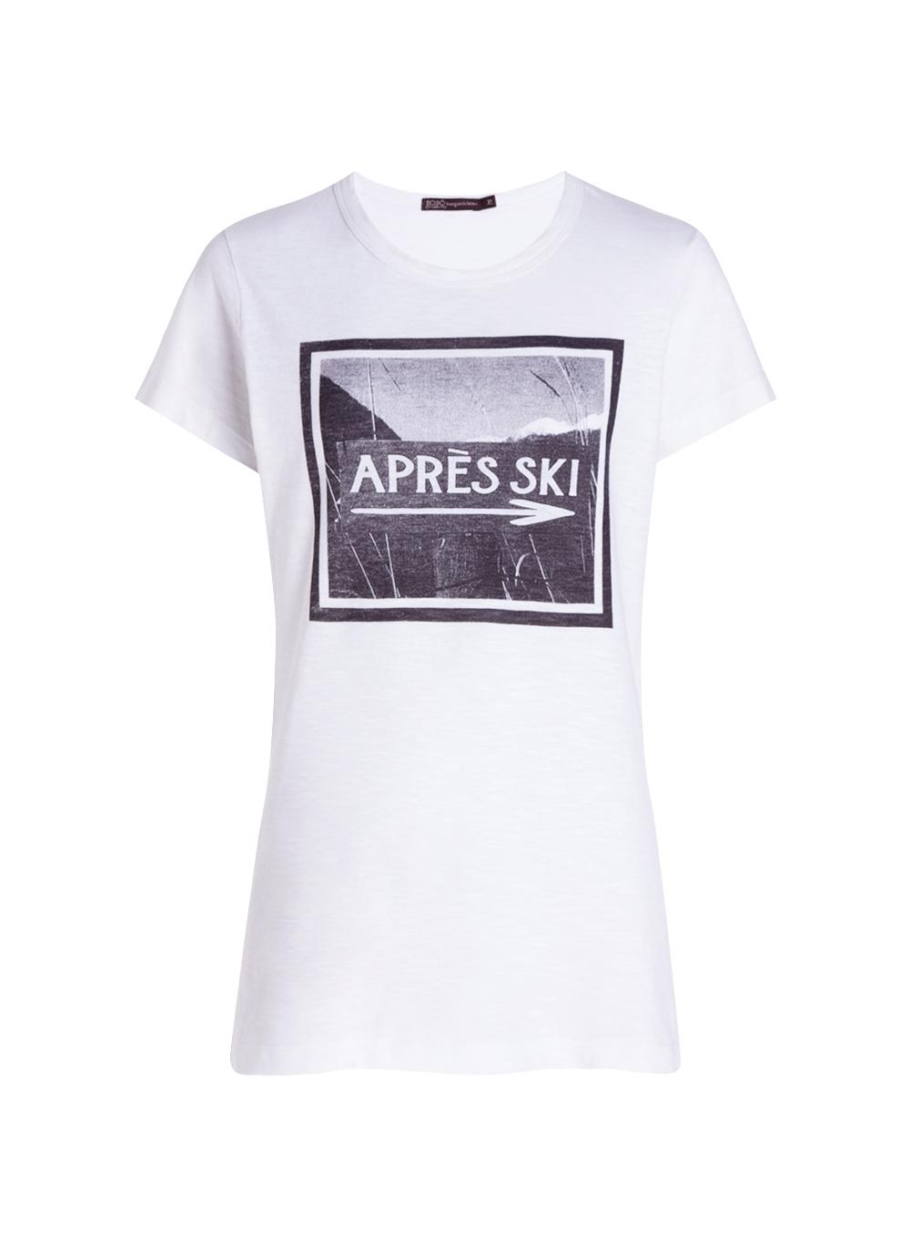 Camiseta Bo.bô Apres Ski Feminina (Branco, M)