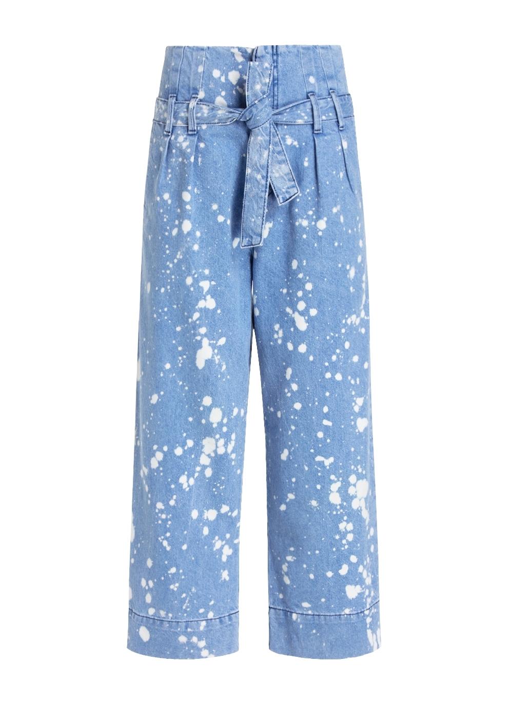 Calça Bo.bô Giovana Acid Wash Feminina (Jeans Claro, 34)