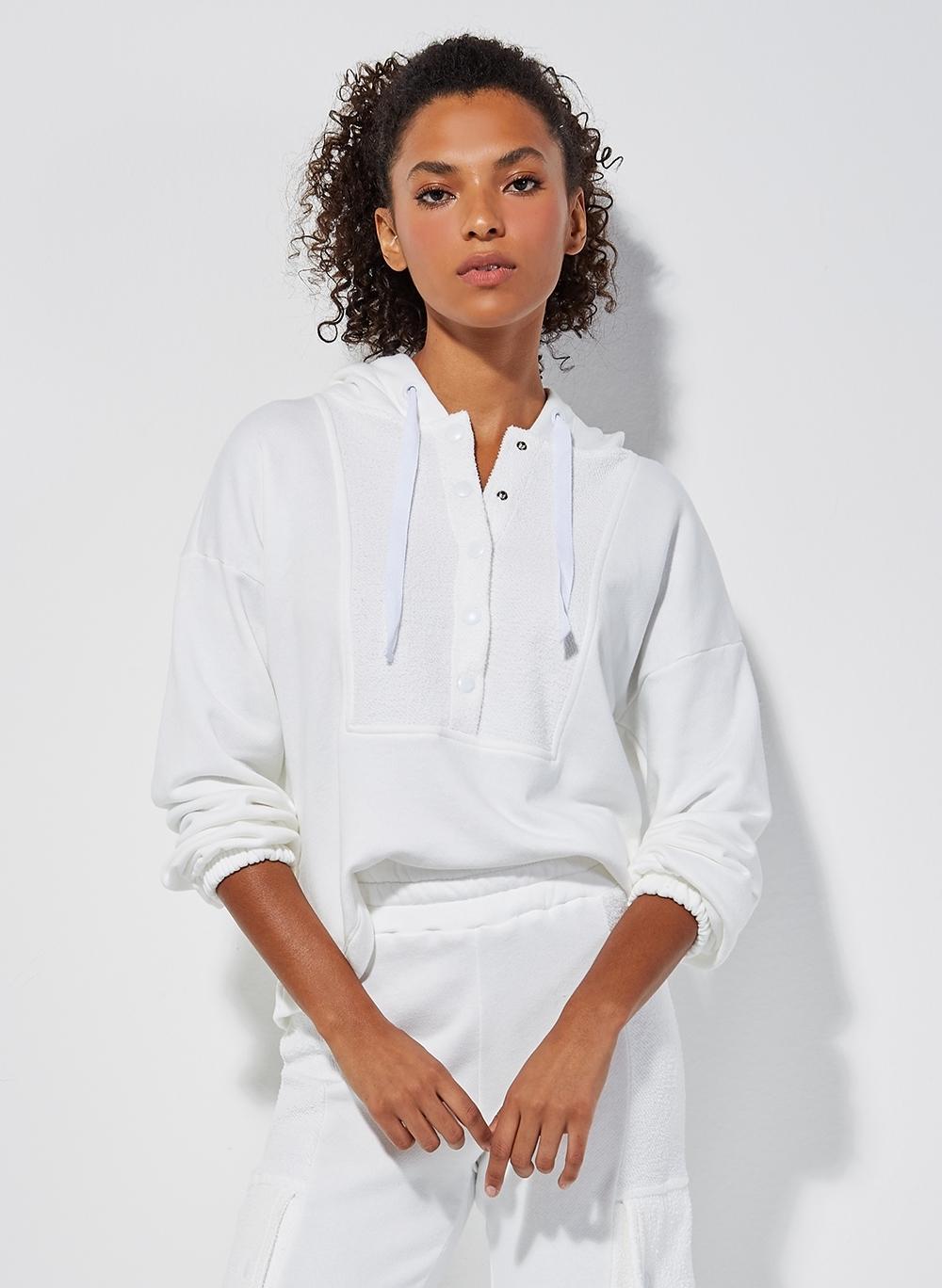 Blusa Le Lis Blanc Drica Feminina (Off White, Gg)
